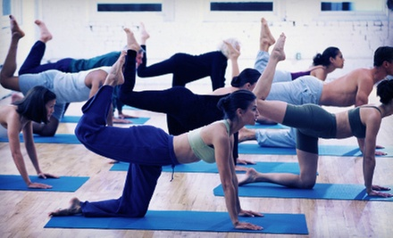 $35 for 10 Classes at Hollywood Market Yoga ($120 Value)