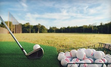 Four or Eight Buckets of Range Balls or One or Four Private Golf Lessons at The Effortless Golf Center (Up to 65% Off)