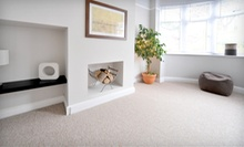 Carpet Cleaning for Three Rooms or Whole Home, or Upholstery Cleaning for One Item from Wax Man Industries (70% Off)