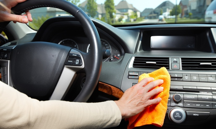Autocleaner private sale deal du jour groupon private sale for Lavage interieur voiture