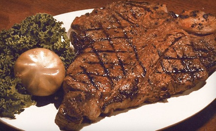 Upscale American Cuisine at Gene's Steak House (Half Off). Two Options Available.