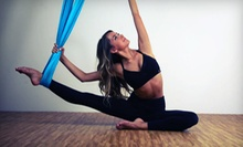 5 or 10 Aerial Yoga, Barre Boot Camp, Piloxing, Pilates, or Yoga Classes at Coolhotyoga (Up to 71% Off)