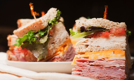 Deli Food and Catering at The Woodside Deli (40% Off). Two Options Available.