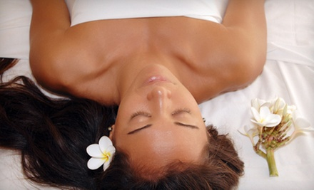 Neck and Back Massage with Reflexology Session or Full-Body Massage at The Massage Corner (Up to 58% Off)