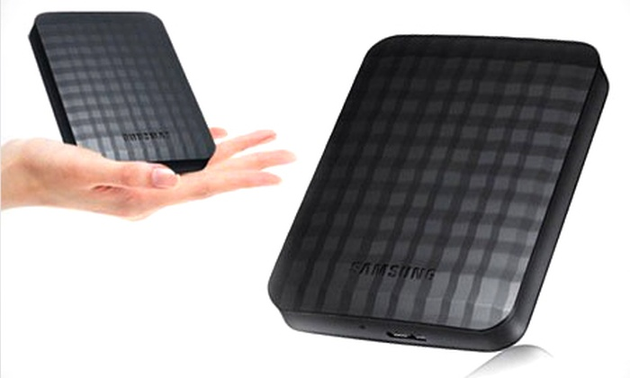 Groupon goods global gmbh deal du jour groupon for Housse disque dur externe samsung m3