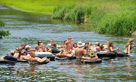 Day of Tubing for Two, or Two Days of Camping and Tubing for Two or Four at Apple River Hideaway (Up to 67% Off)
