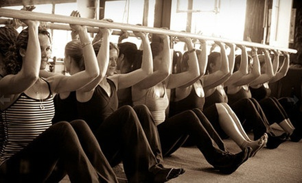 5 or 10 Bar-Effect Fitness Classes at The Bar Effect (57% Off)