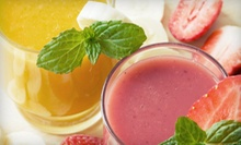 5- or 10-Visit Food Card for Juice, Shakes, or Sandwiches at Roselle Health Plus (Up to 58% Off)