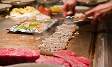 $15 for $30 Worth of Japanese Food for Dinner at Shogun Japanese Steakhouse