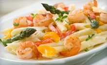 Dinner for Two, Four, or Six at Mazelli's Italian Restaurant (Up to 58% Off)