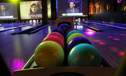 One Hour of Unlimited Bowling for Two or Four with Shoe Rental at King Pinz (Up to 47% Off)