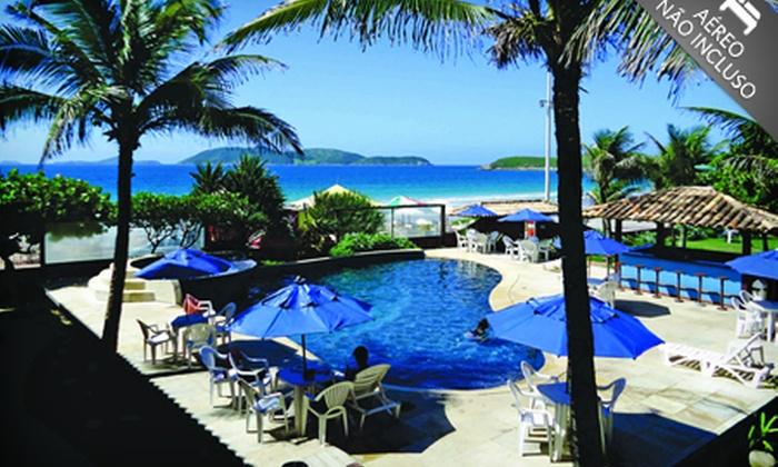 Hotel La Plage - Cabo Frio: Cabo Frio/RJ: 2 ou 3 noites em alta temporada para até 4 + café da manhã, no Hotel La Plage, por R$ 399