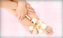Mani-Pedi, Paraffin Treatment, and Option for 60-Minute Full Body Massage at Fantasy Spa Beauty Lounge (Up to 62% Off)
