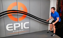 5 or 10 Monkey-Bar Sessions at Epic Gym (75% Off)