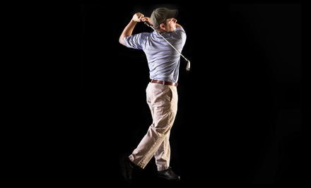 Two One-Hour Golf Lessons for One or Two at Olympia Golf Tech (Up to 64% Off)