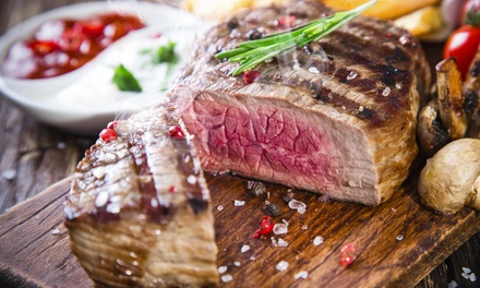 Italian Steak-House Cuisine for Two or Four at Mario's Restaurant (48% Off)