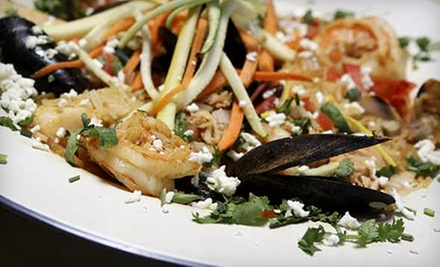 Spanish and Asian Fusion Cuisine at Mijo's Fusion (Half Off). Two Options Available.