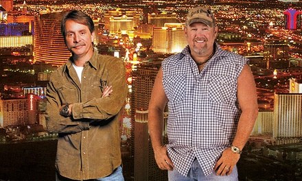 Jeff Foxworthy & Larry The Cable Guy at The Axis at Planet Hollywood Resort and Casino on December 12–13 (Up to 33% Off)