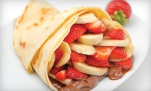 $7.50 for $15 Worth of Crepes at Crepe Delicious