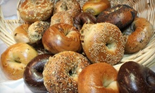 Bagels, Pastries, and Muffins at Davidovich Bagels (Up to 62% Off). Three Options Available.