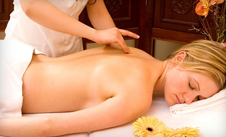Massages at Touch of Indigo Massage Therapy (Up to 76% Off). Four Options Available.