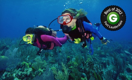 Reef-and-Shipwreck Snorkeling Experience or Discover Scuba Diving Course from Dixie Divers (Up to 60% Off)