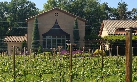 Wine Flight for Two or Four with One or Two Take-Home Bottles at Troon Vineyard (Up to 45% Off)