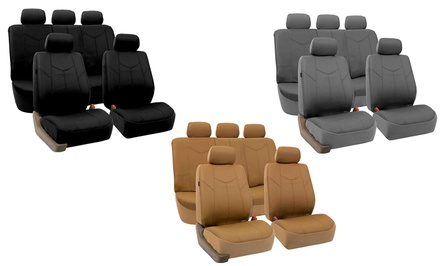 Faux-Leather Car-Seat Covers