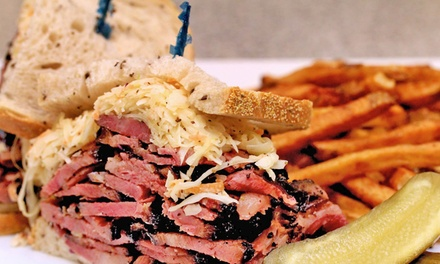 Deli Food or Catering at Heckman's Delicatessen (50% Off). Three Options Available.