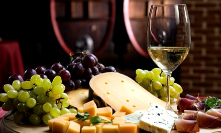 $49 for a Wine Tasting for Two with Appetizer, Dinner, and a Bottle of Wine at 1742 Wine Bar (Up to $178.90 Value)