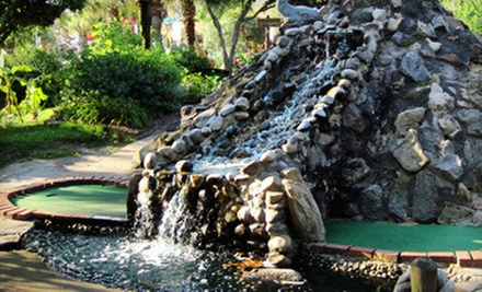 All-Day Mini Golf for Two or Four with Popcorn, or Season Pass for Two at Jungle Golf (Up to 62% Off)