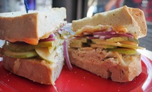 Gourmet Sandwiches, Homemade Soups, and Drinks at Ocean State Sandwich Company (Half Off). Two Options Available.