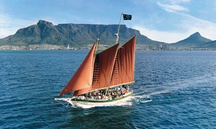 Waterfront Adventures - Cape Town: One and a Half Hour Bay Sail on the Spirit of Victoria from R180 with Waterfront Adventures (50% Off)