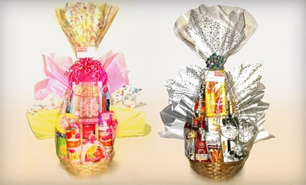 $35 for a Gourmet Gift Basket with Delivery from Better Baskets and Gifts (Up to $70 Value)