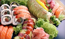 Sushi and Japanese Food at Mizu Japanese Sushi Restaurant (Half Off). Two Options Available.