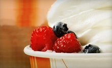 $4 for $8 Worth of Frozen Yogurt at Orange Leaf
