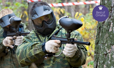 Paintball Package for Two or Four at Husker Paintball Adventures (Up to 50% Off)
