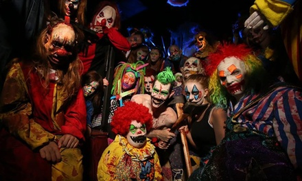 VIP Visit for Two, Four, or Six at Massacre Haunted House (Up to 53% Off)