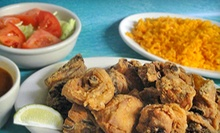 Latin American Cuisine at Maria's Island Restaurant (Up to 53% Off). Two Options Available.
