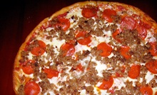 One or Two Pizzas with Appetizers at The Original Primo Pizza & Grill (Up to 52% Off)
