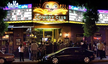 Standup Show and Appetizers, Plus 4 Tickets to a Future Show at Ha Ha Café Comedy Club (Up to 78% Off)