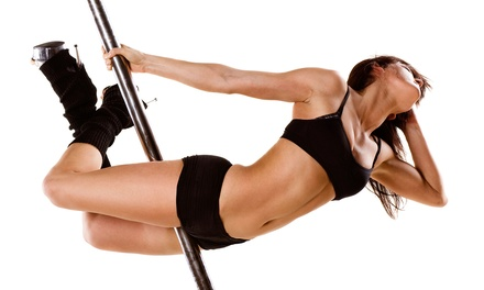 One, Four, or Eight Pole-Fitness and Pole-Dance Classes at L.L.H Fitness and Dance Studio (Up to 77% Off)