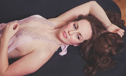$35 for a 90-Minute Boudoir Photo-Shoot Package from All Things Boudoir ($390 Value)