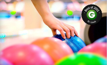 Two-Hour Bowling Package for 2, 5, or Up to 10 with Shoe Rental and Pizza at Imperial Bowl (Up to 78% Off)