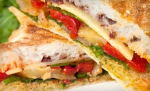Sandwiches, Soups, or Salads with Drinks and Ice Cream for Two or Four at The Eagle Scoop (Up to 52% Off)