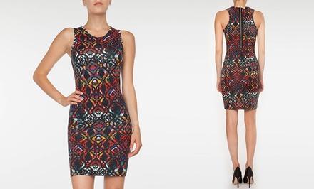 Devoted Women's Multi-Ikat Printed Dress