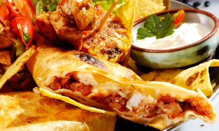 $19.20 for 4 Groupons, Each Good for $8 Worth of Mexican Food at La Laguna Mexican Restaurant ($32 Value)