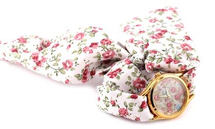 Relógio floral WT004 por 8,99€ ou dois por 14,99€
