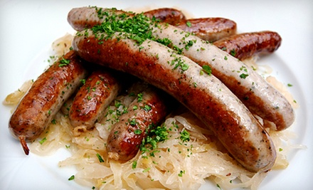 $10 for $20 Worth of Gourmet Handcrafted Sausage at Rhoten's Country Sausage
