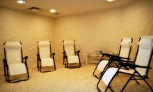 One or Three 45-Minute Salt-Therapy Sessions at The Salt Room (Up to 59% Off)